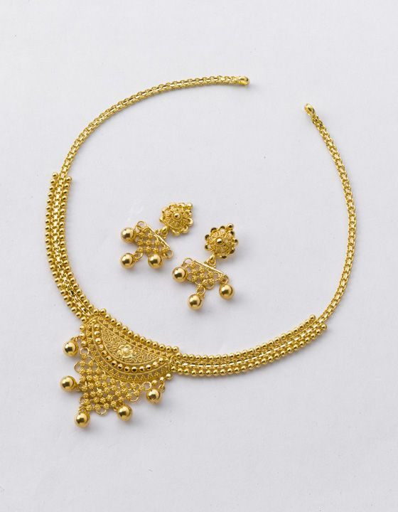 Necklace Weight 14 Gm And Price Rs 46 600 Earring 6 20 000