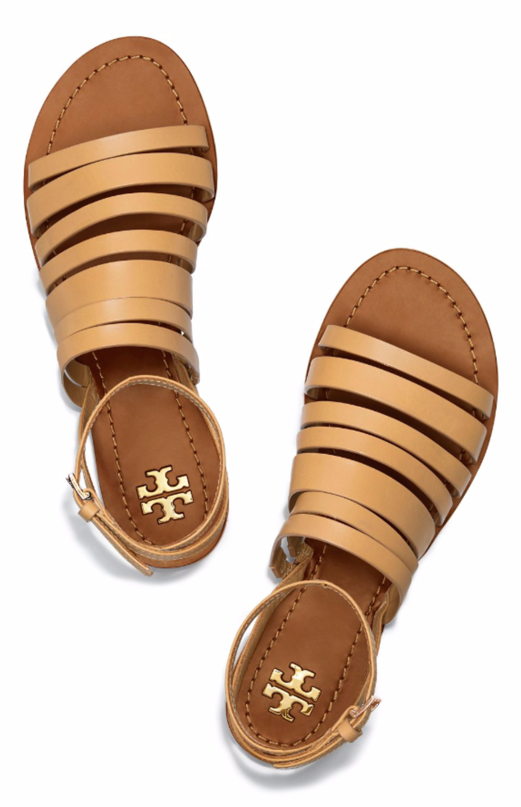 60a7c9c3fa830b Tory Burch Patos Ankle Strap Sandal