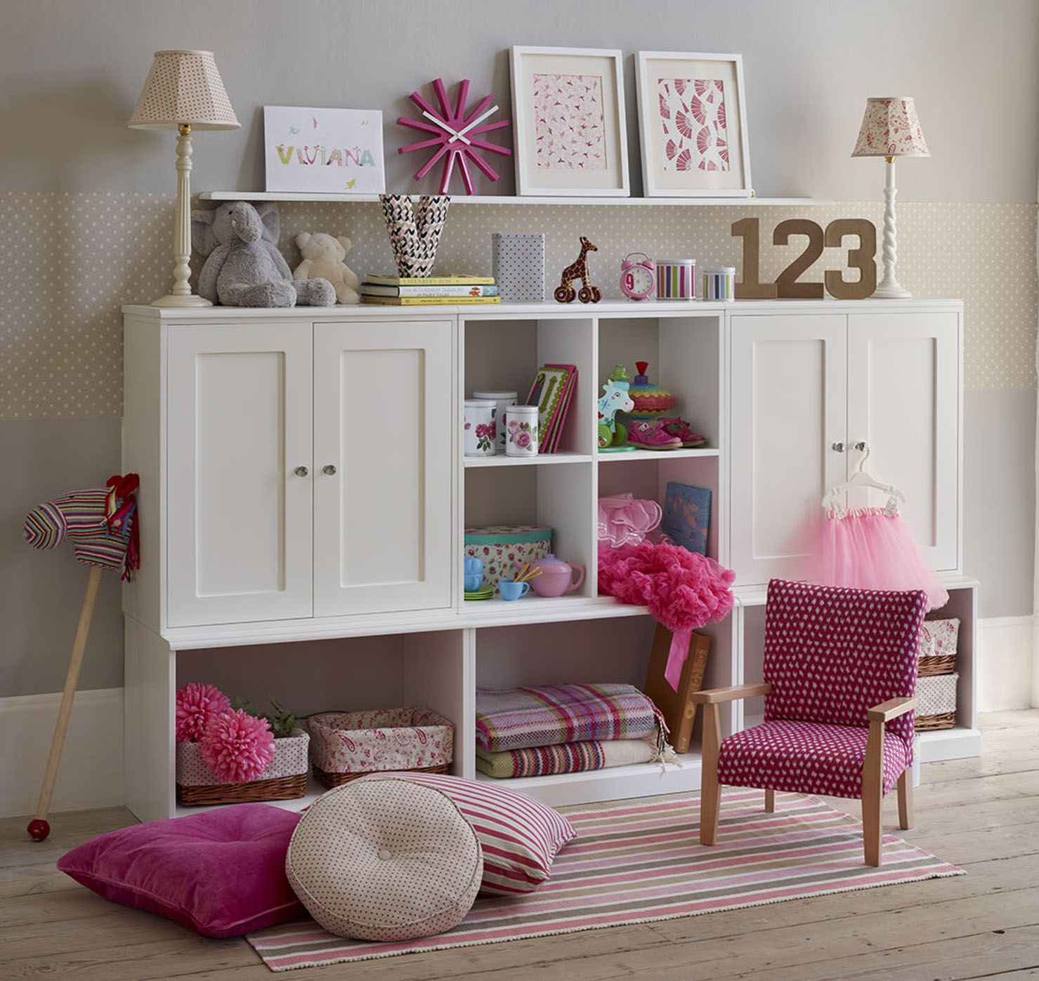 Childrens Room   Wall Storage System   The Dormy House