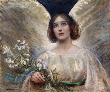 Easter Lilies - Alice Pike Barney (1857-1931)