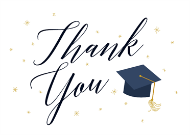 Graduate Script Free Graduation Thank You Card Greetings Island Graduation Thank You Cards Congratulations Card Graduation Thank You Cards
