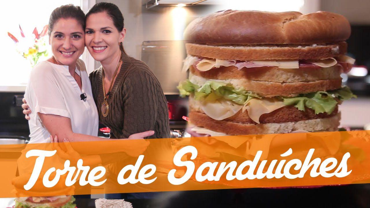 Torre De Sanduiches Receita Bake Off Brasil Receitas Pratos