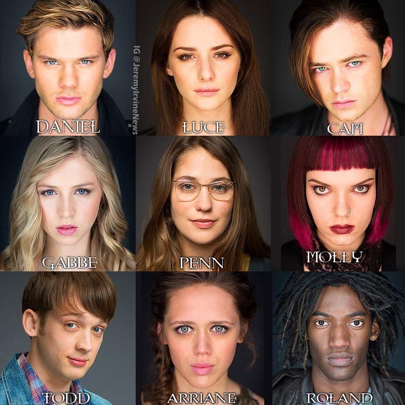 Lovely edit of the Fallen cast by @JeremyIrvineNews