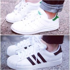 Inactivo Pedir prestado Estragos  stan smith + superstar = adidas | Adidas, Stan smith, Adidas superstar