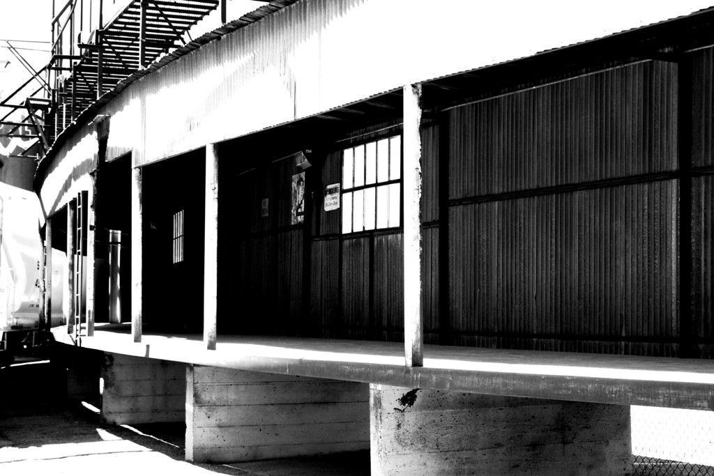 Cereal Factory. Salt Lake City Utah. Black and white. High Contrast. Photo by Harvey Brand Imagery