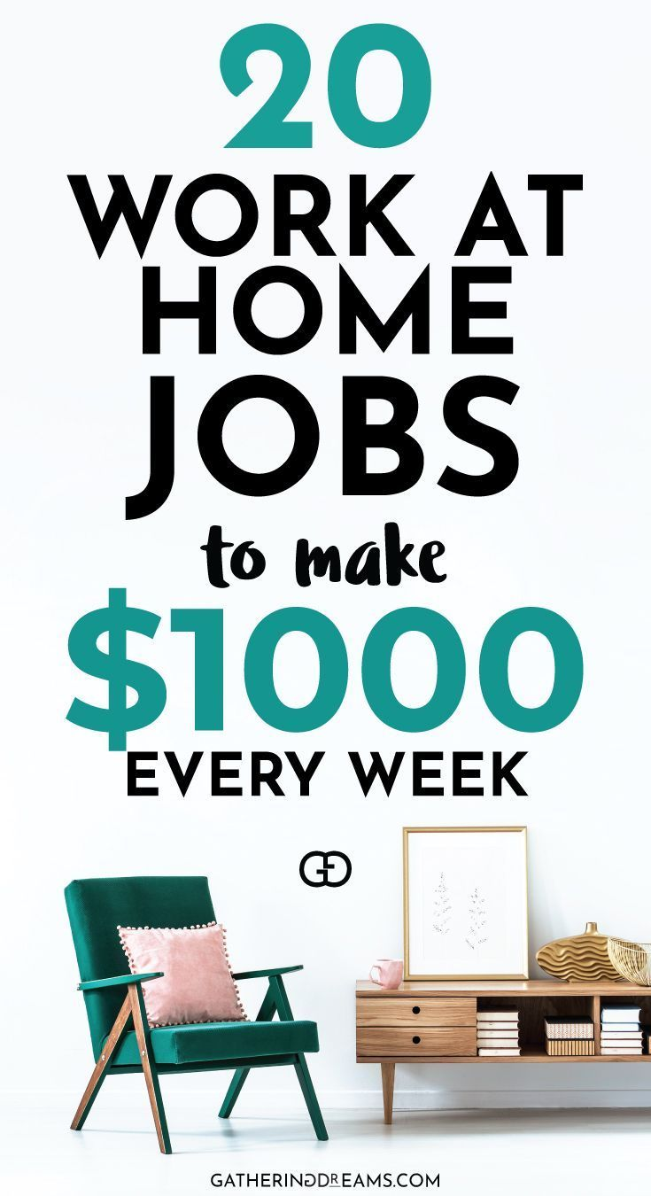 20 Best Ways To Make Money from Home (in 2019)
