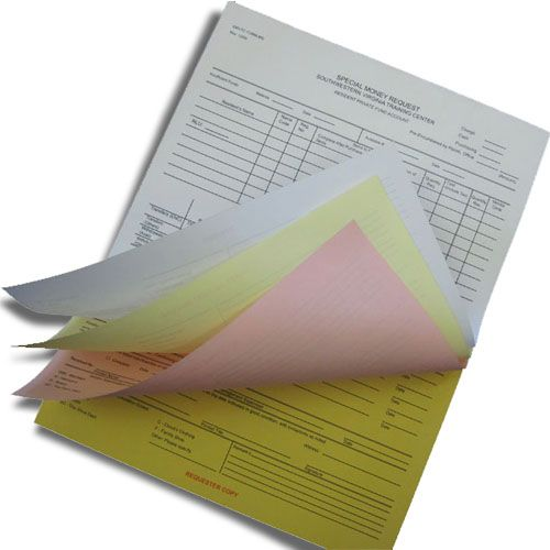 Custom Printed 3 Part Carbonless Forms With Free Worldwide Shipping Custom Print How To Make Notes Prints