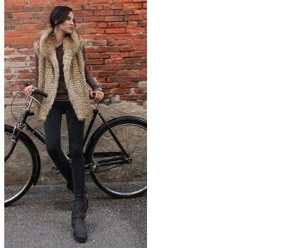 Fur vest...love it!