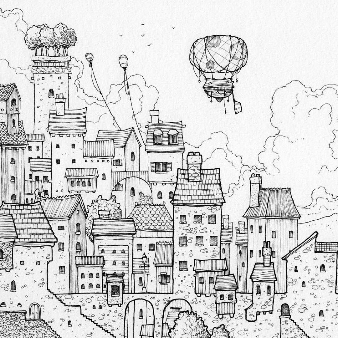 Home Design Ideas Buch: Airship Notebooks On Instagram: Great #airship #penandink