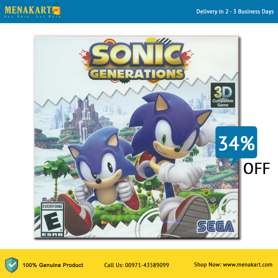 Shop For Sonic Generations Playstation 3 Games Online Sonic Generations Generation Game Xbox 360