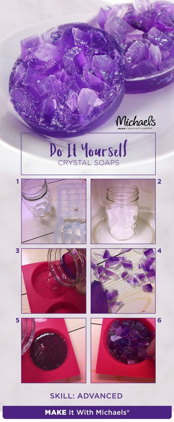 Lavender crystal soap tutorials crafty and diys lavender crystal soap diy solutioingenieria Image collections