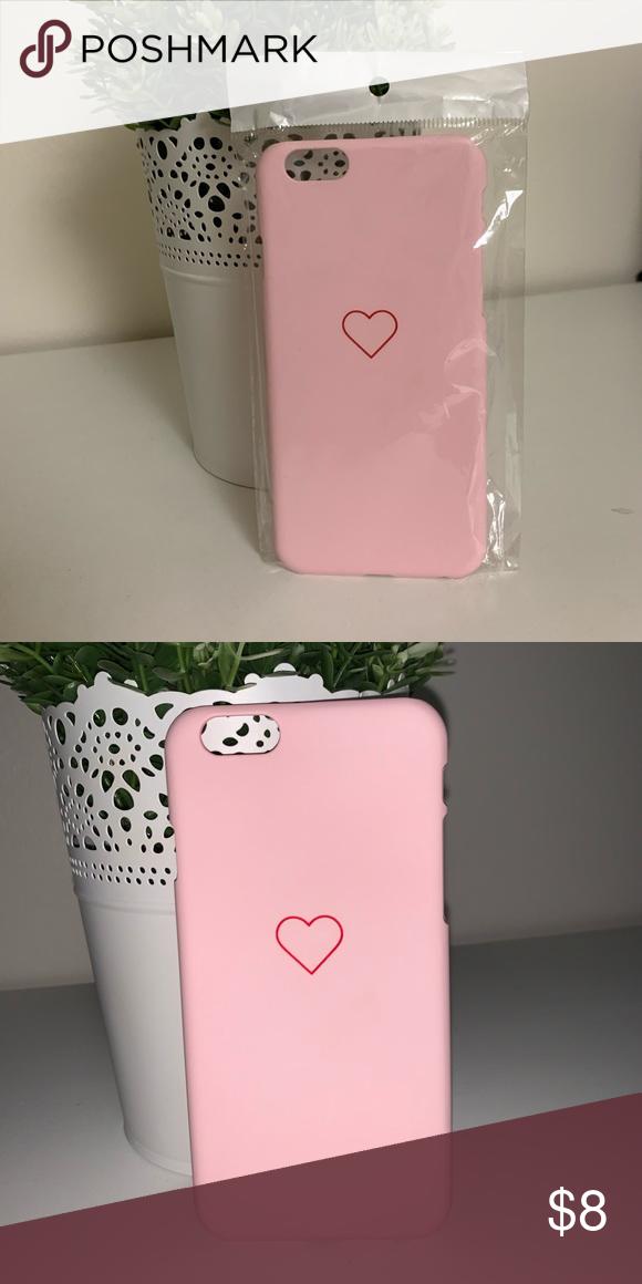 Pink \u0026 Red Heart IPhone 6 \u0026 6s Case