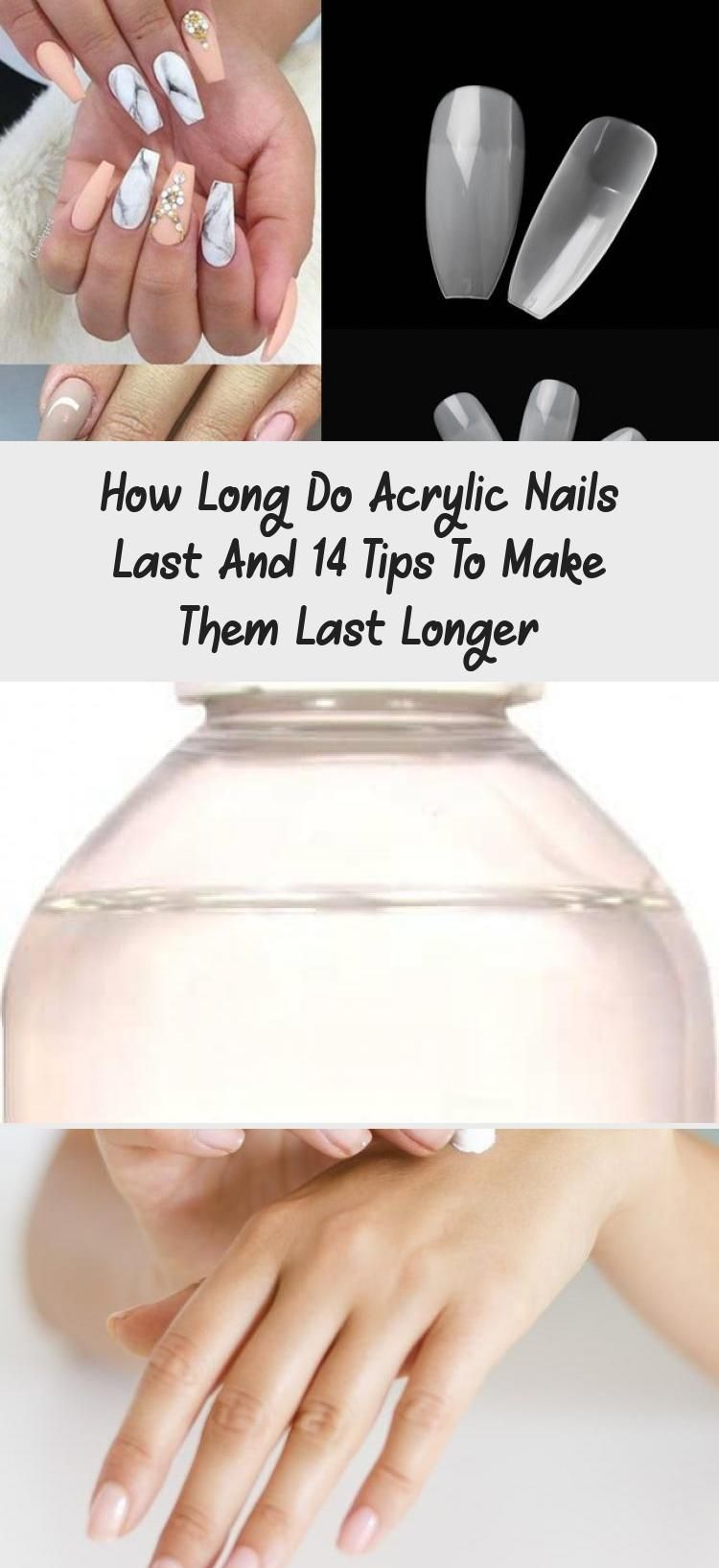 How Long Do Acrylic Nails Last And 14 Tips To Make Them Last Longer Makeup In 2020 Acrylic Nails Neon Acrylic Nails Neutral Nails Acrylic