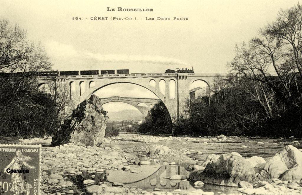 Ceret Pyr Or Art Moderne Carte Postale Historique
