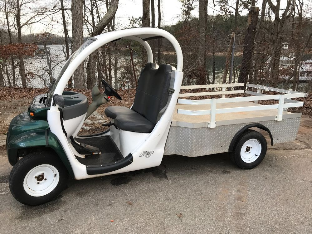 Chrysler Gem 2 Penger Utility Flat Bed golf Cart (2001)   pcn ... on used ez go electric cart, flat bed topper, flat bed parts, flat bed gator cart, flat bed dryer, electric flat cart, flat moving cart, flat bed fifth wheel, flat cart with wheels, flat bed trailers, nordskog electric 539 cart, flat bed 4 wheeler, flat dolly cart, flat bed tool box,