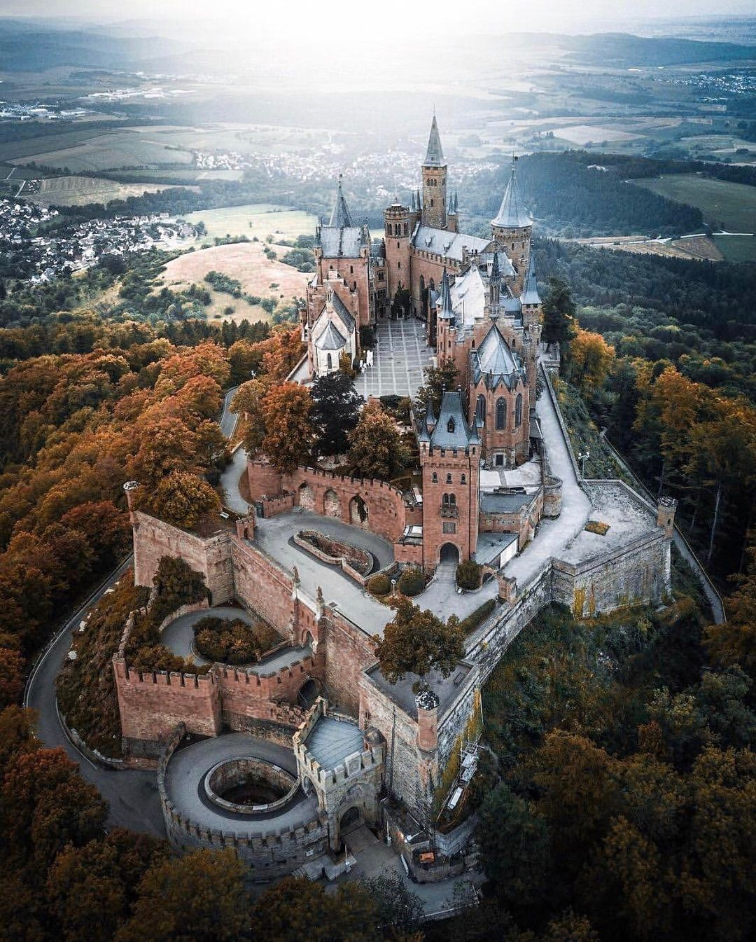Burg Hohenzollern Hohenzollern Castle Germany Castles Castle