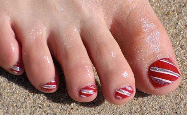 Toe Nail Design Ideas Winter 2017 Mco My Cute Outfits Toe Nail Designs Toe Nails Cute Toe Nails