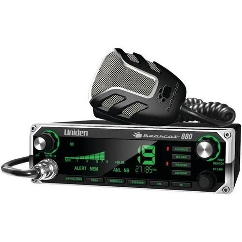Uniden(R) BEARCAT 880 40-Channel Bearcat 880 CB Radio with 7-Color Display Backlighting R810-UNNBEARCAT880