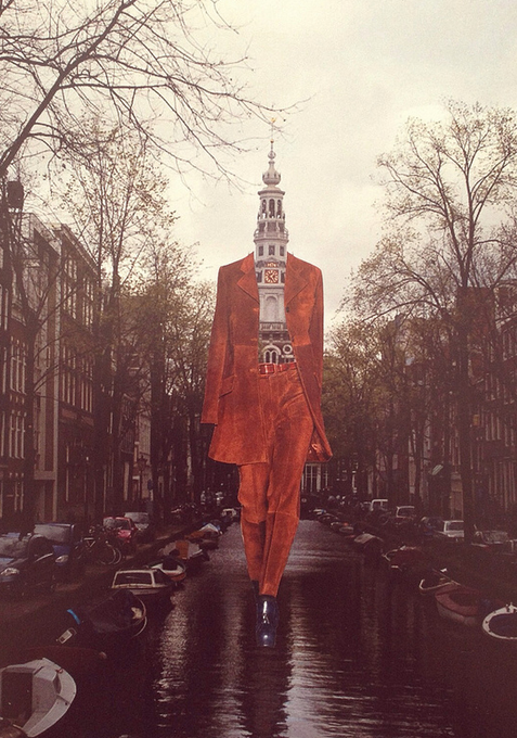 Deger Bakir - Fashion Collage - If there were other people so lonely so close