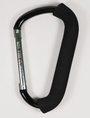Jumbo Carabiner Hook Max Force Extra Large Spring Snap Hook Cushion Grip Colors