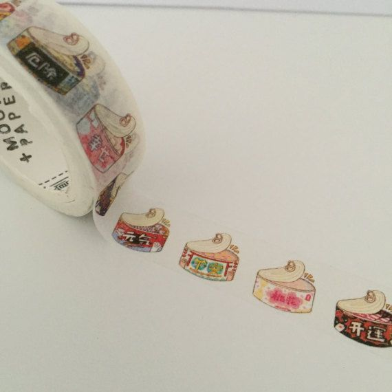 Cats Foods Washi Tape