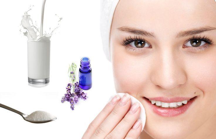 Tonico, latte detergente e impacco normalizzante fai da te c…  – facial cleans…