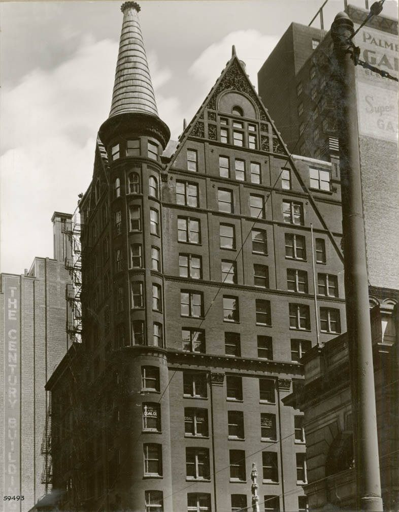 Owings Building at 203 S. Dearborn Street c. 1939. Designed by Henry ...