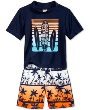 Oshkosh B'Gosh 2-Pc. Surfboard Rashguard & Swim Trunks Set, Toddler & Little Boys (2T-7) & Reviews - Swimwear - Kids - Macy's