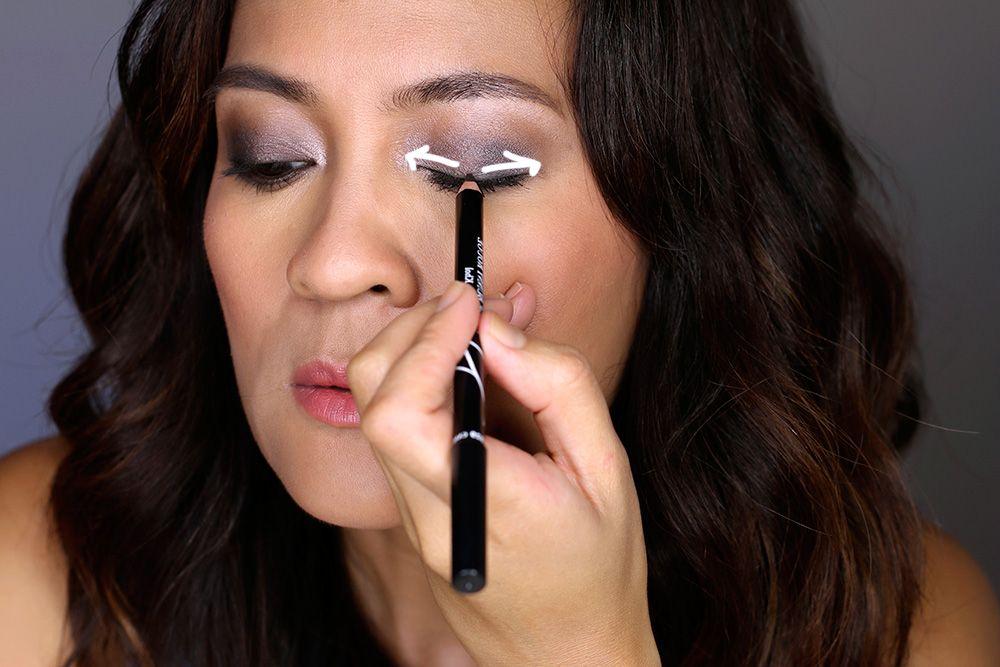 A Smoky Eye Application Tip Start Applying Your Eyeliner
