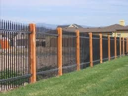 Image Result For Aluminum Vs Wrought Iron Fence With Images