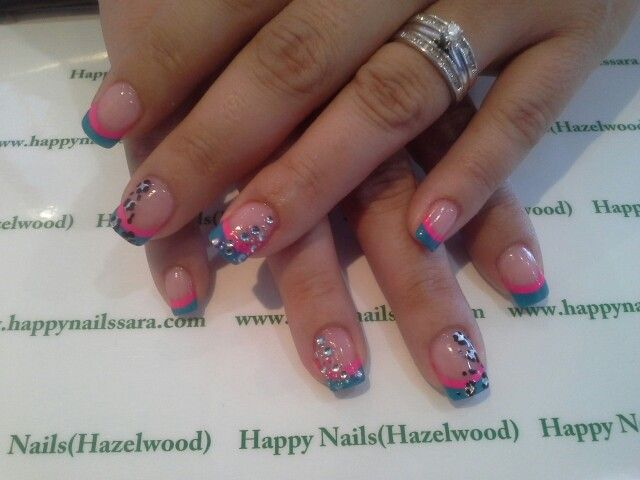 #happynailssara 314 677 4907 #naildesign #Nailart #diamond #rhinestones #glitter #gel #mood #colors #girls #stylish #sparkles