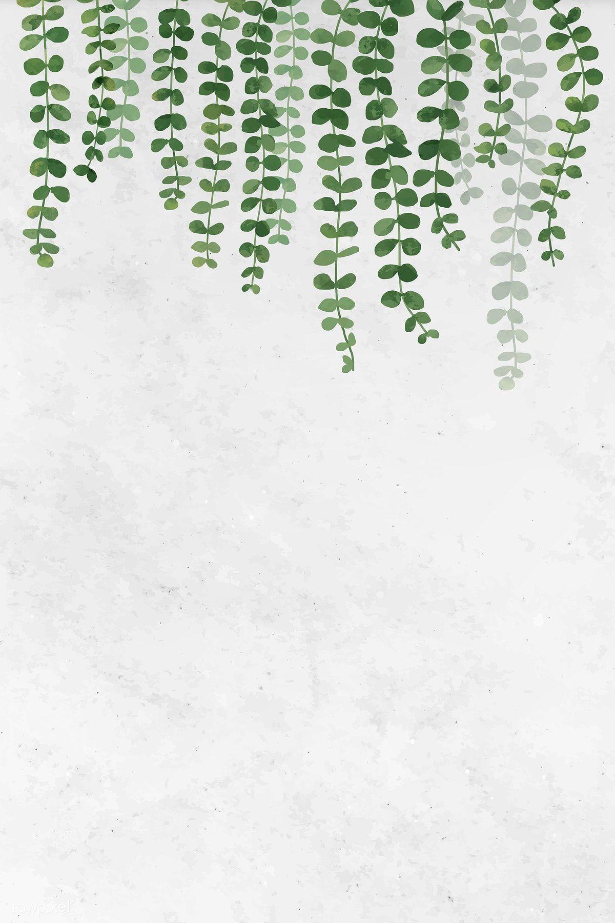 Download premium vector of Blank leafy frame design vector 1208572
