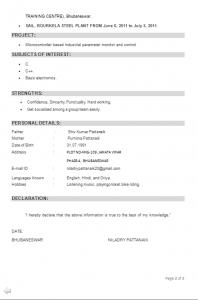 b e ece resume format resume format pinterest resume format