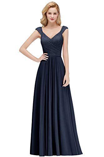 MisShow Damen Evening Kleid Swing Kleid Festliches Kleid ...