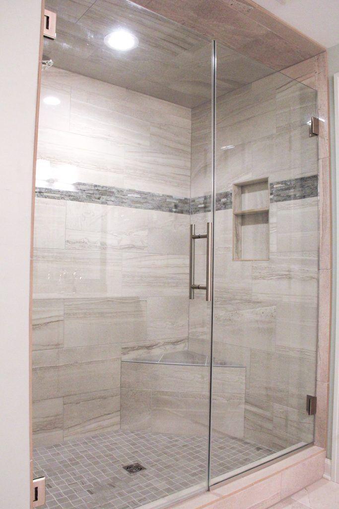 Shower Tile Anatolia Amelia Mist Polished 12x24 Accent Tile