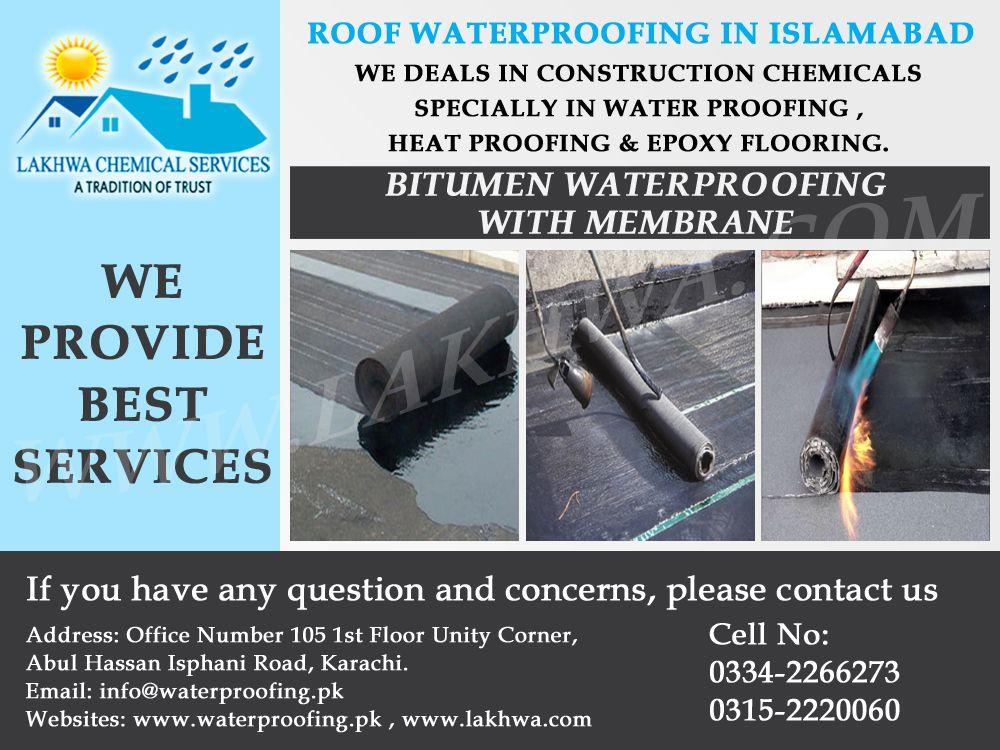 Waterproofing Bitumen Waterproofing Leakage & Seepage in