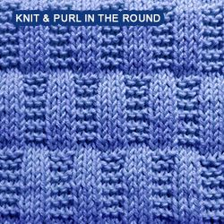 b3a308827646 Over 100 knitting stitch patterns that can be made using only knit and purl  stitches. Skill levels range from easy to intermediate