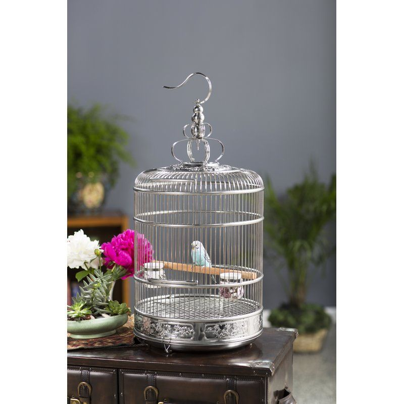 Briceno 285 bird cage with removable tray bird supplies