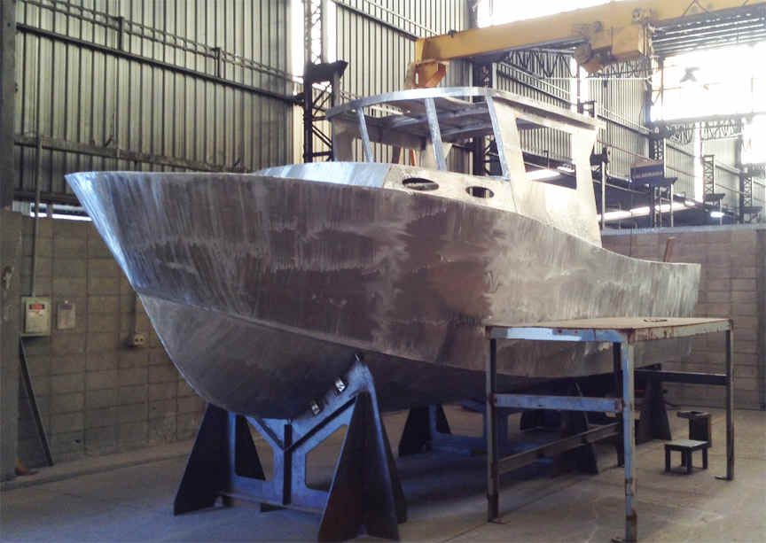 Fishing boats plans work boat plans STEEL KITS POWER, boat