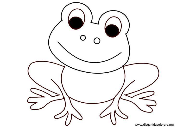 Frosch ausmalbild - Ausmalbilder für kinder Ausmalbild