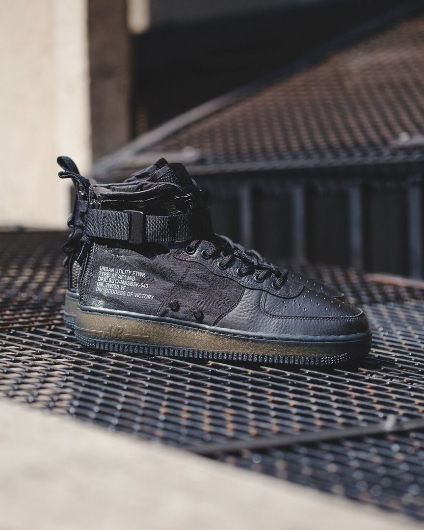 fd15a5b9aa36 Nike SF Air Force 1 Mid QS   AA7345-001 (via thedropdate) Click to shop