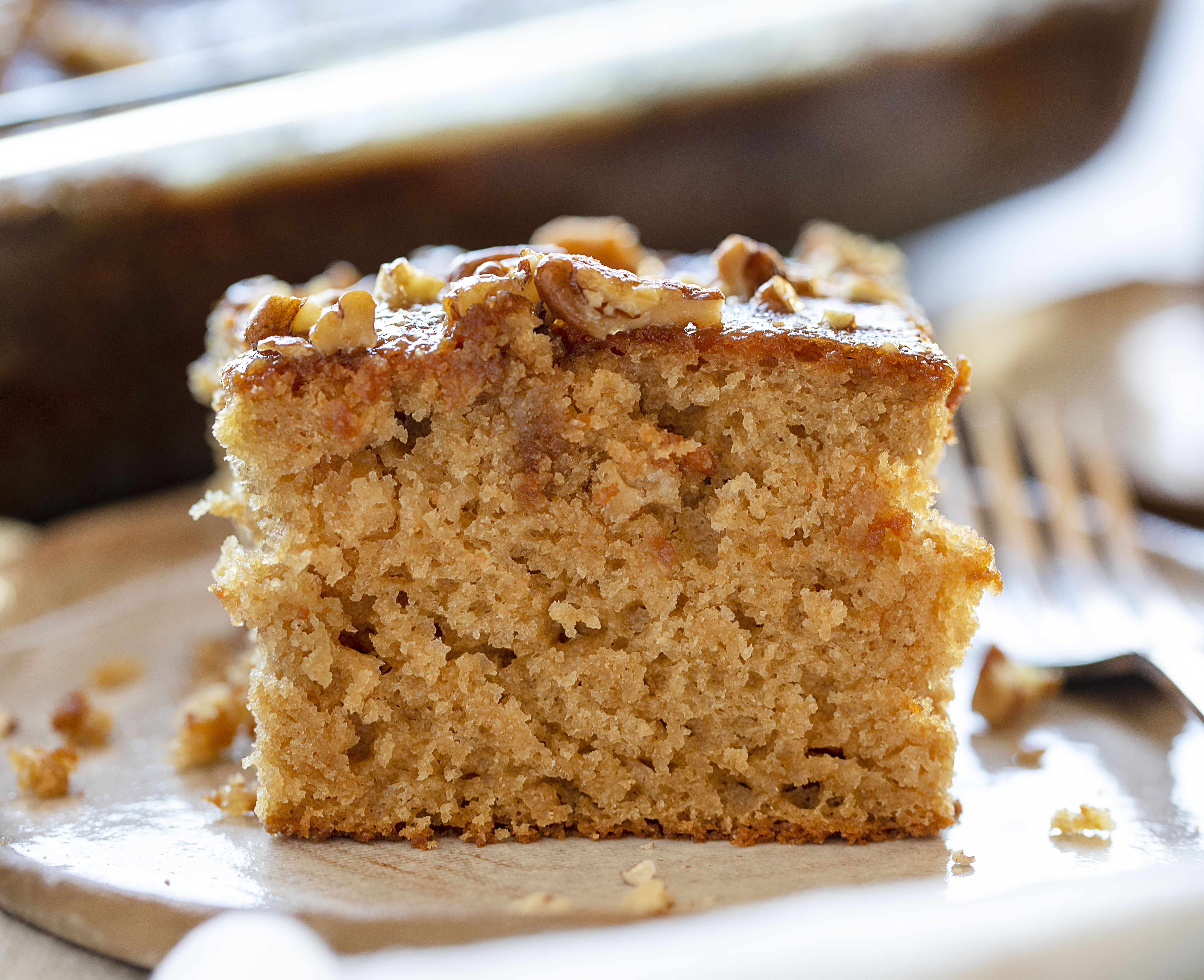 This Is One Of Those Cakes That Immediately Brings Back Memories Rich Flavor And Full Of Texture And Swee Pecan Cake Buttermilk Cake Recipe Buttermilk Recipes