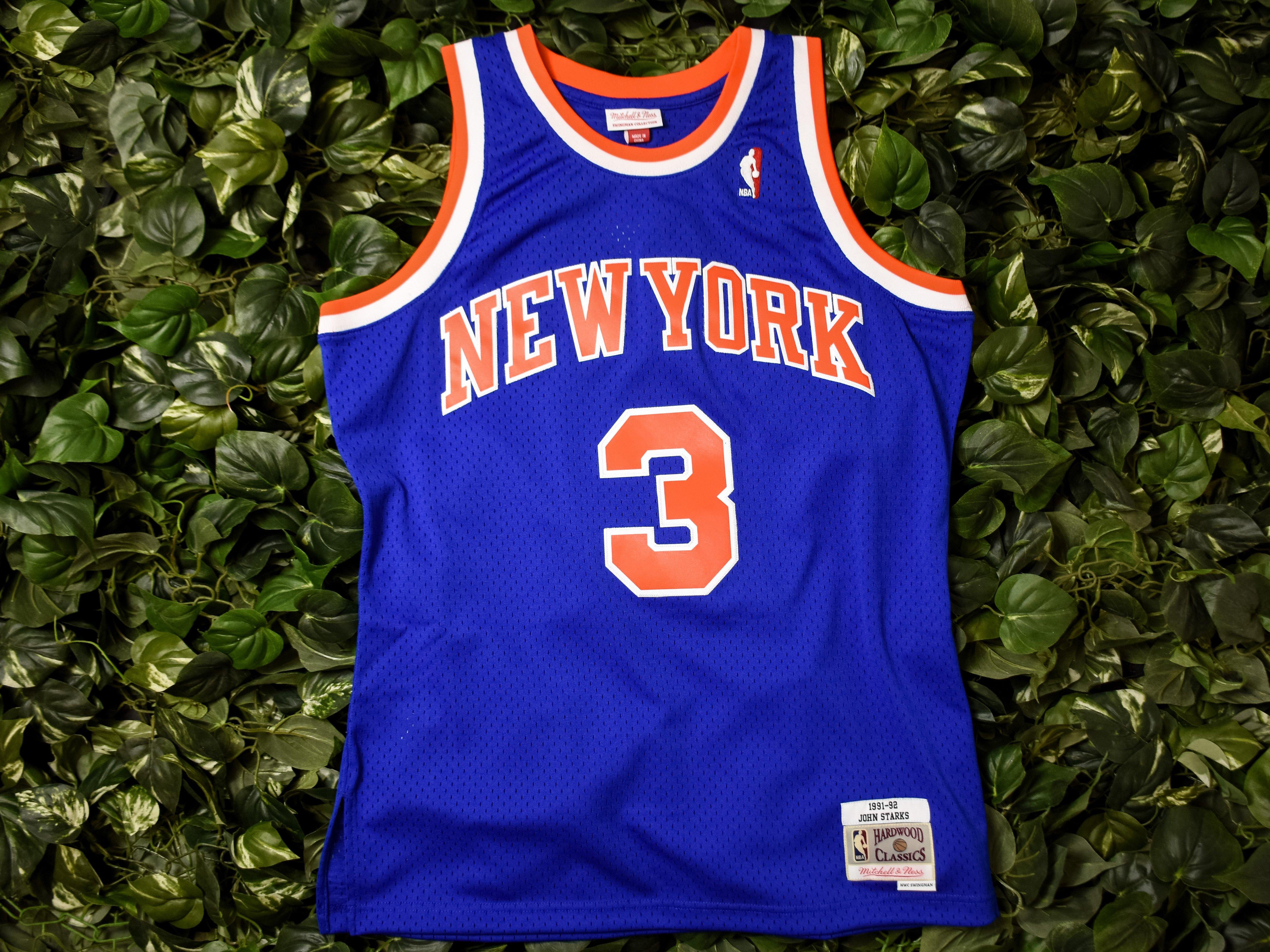 Mitchell   Ness  John Starks  NBA Swingman Jersey  353J-318-FGYJSA ... ce466299e