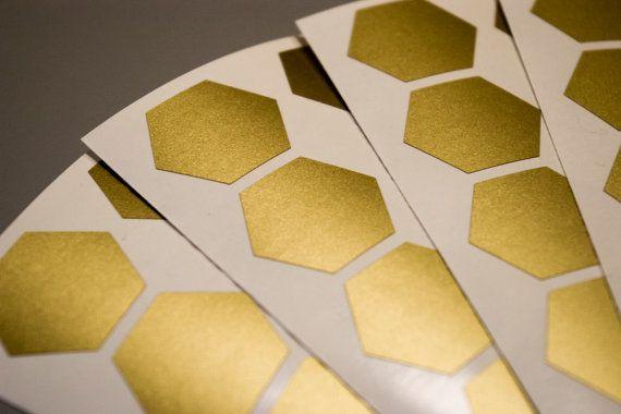 30 stickers van de zeshoek honingraat Vinyl muur sticker