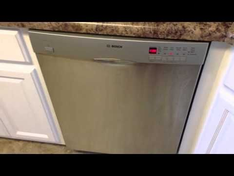 Bosch Dishwasher No Water Fix When I Run My Dishwasher There Is No Water And Everything Inside Remains Dry Dishwasher Repair Bosch Dishwashers Dishwasher