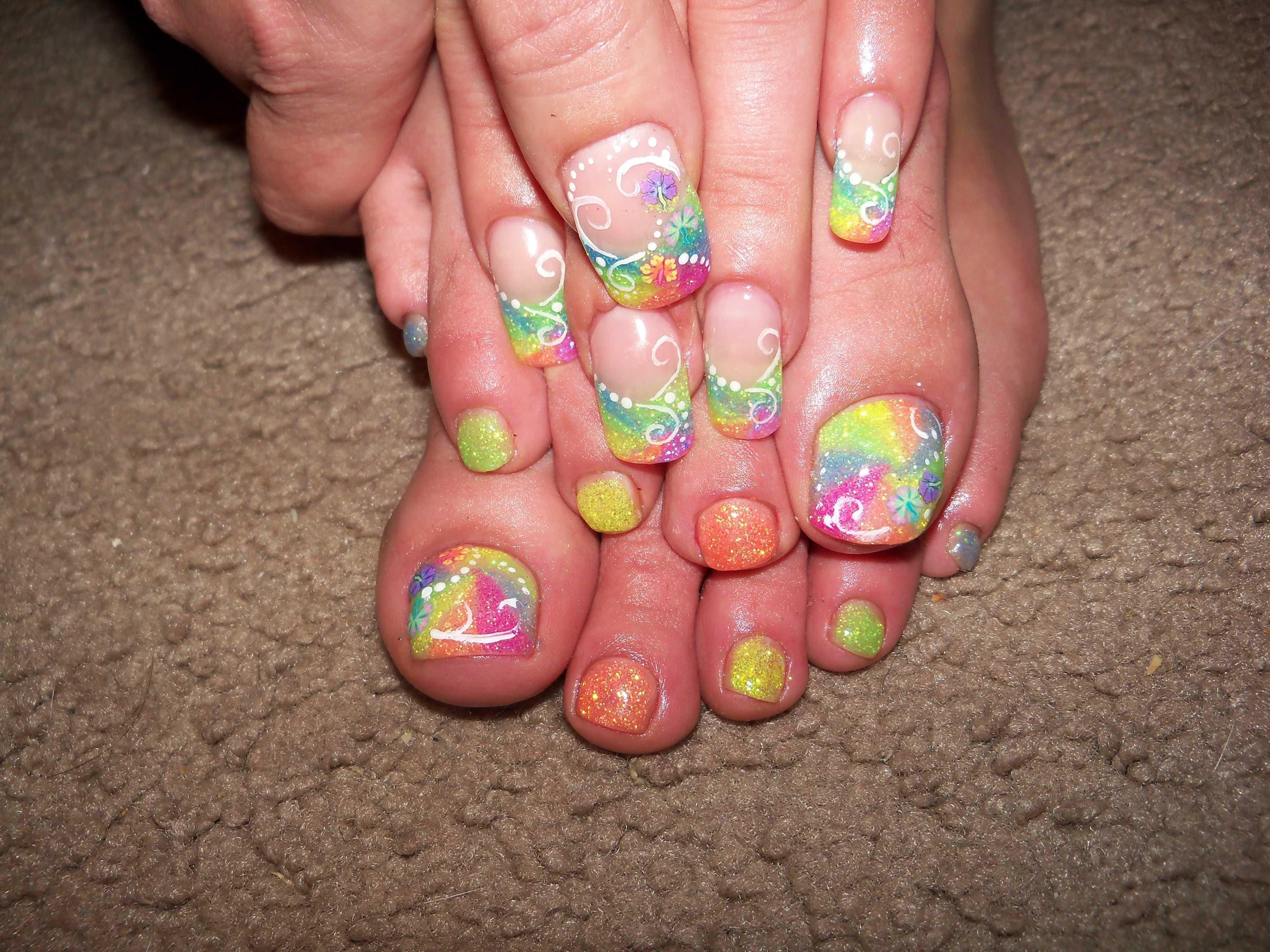 Love the toenails | nails | Pinterest