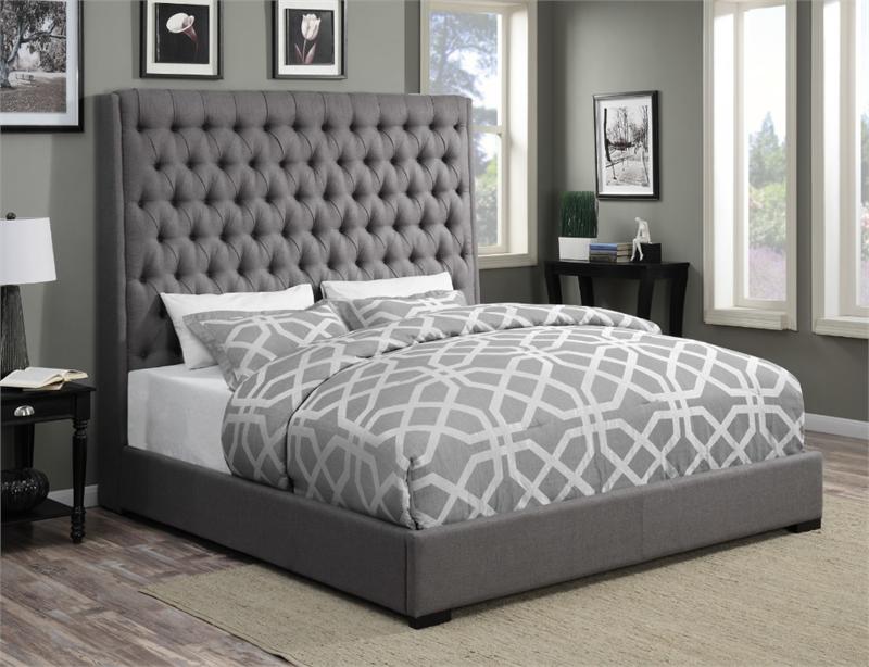 Coaster Camille Upholstered Bed Las Vegas Furniture Online ...