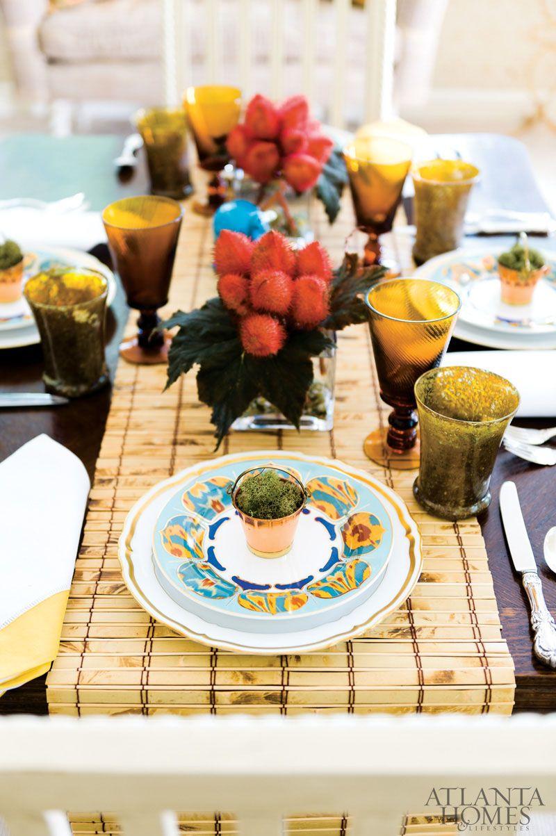 Local Color Dinnerware, Elegant dining, Local color