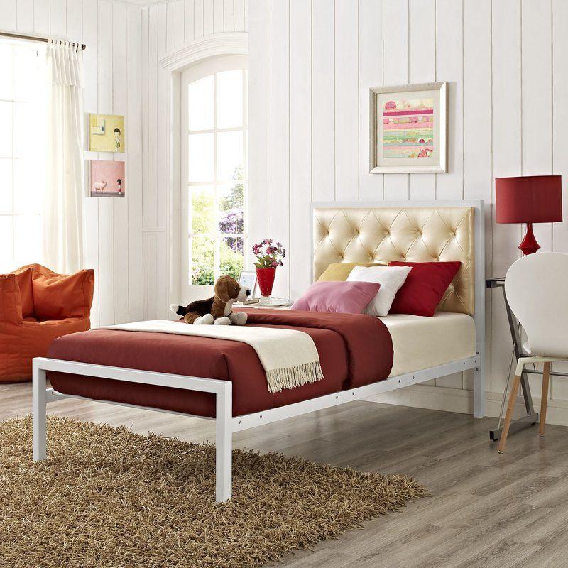 Ruthann Upholstered Storage Platform Bed Upholstered