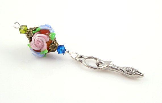 Blessingway bead - Rose Goddess: https://www.etsy.com/listing/167047168/blessingway-bead-rose-goddess